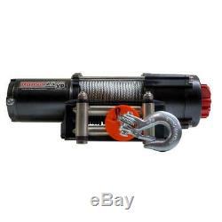 4500 Lbs. Capacité De 12 Volts Treuil Électrique Avec 52 Pieds. Câble D'acier Expert Packag