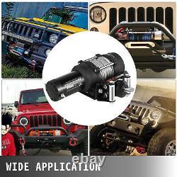 4500lb Électrique Winch 12v Remorque Câble D'acier Hors Route Pour Bateau Camion Pick-up Suv