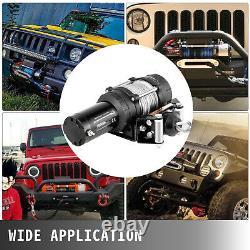 5000lb Electric Winch 12v Remorque Câble D'acier Hors Route Pour Camion Pick-up Suv