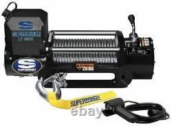 8500lb (4,25tonnes!) Treuil De Récupération Électrique 12v Superwinch Lp8500 Wire Rope