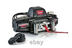 Avertir 103250 Vr Evo 8 Standard Duty 8,000lb Treuil Avec 90 Câble Corde En Acier