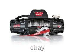Avertir 103251 Vr Evo 12 Volt DC Alimenté 8000lb Treuil Avec Corde Synthétique De 90 Pieds