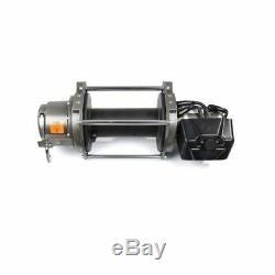 Avertir 30284 Série 9 DC Winch Électrique Industriel, 24 Volt 9000 Lbs. Max Ligne