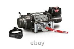 Avertir 47801 M15000 Série 12 V Treuil Électrique Avec 15.000 Lb Capacité Câble De 90 Pieds