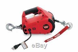 Avertir 885000 Pullzall 1000 Lb Portable Winch Électrique Pour Vtt Utv Sxs Remorque