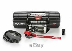 Avertir Axon Powersport Série Winch 45 4500 Lbs. / 2041 KG 50 Pi. Corde En Acier