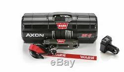 Avertir Axon Powersport Winch 3500 Lbs Inc. 50 Pi. 3/16 Dans. Corde Synthétique