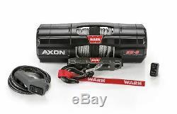 Avertir Axon Powersport Winch 5500 Lbs. / 2495 KG 50 Pi. De 1/4 Po. Corde Synthétique