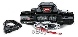 Avertir Zeon 10-s Premium Winch Corde Synthétique Aluminium Chaumard 10000 Lb