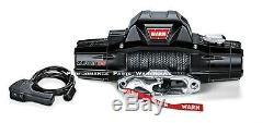 Avertir Zeon 8 S Premium Winch Corde Synthétique, Hawse Aluminium Chaumard 8000 Lb