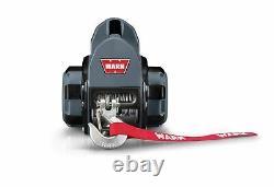 Avertissez 910500 500 Lb Capacité Électrique 12 Volts Treuil De Forage Avec Câble De Fil De 30 Ft