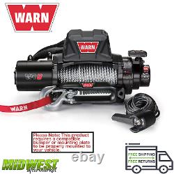 Avertissez Evo Vr8 8000 Lb Self-recovery Electric Winch Avec 94ft De Wire Rope