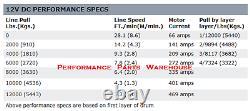 Avertissez La Corde Synthétique De Winch De Premium Winch De Zeon 12-s, Hawse Aluminium Fairlead 12000 Lb