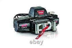 Avertissez Vr Evo Winch 103254 12 Volts 12,000 Lbs 85' De Câble D'acier 3/8 W Remote