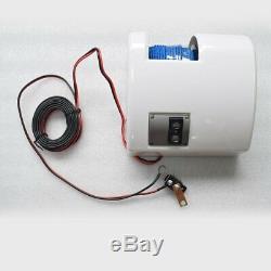 Blanc Saltwater Électrique D'ancre Treuil Set Bateau Treuil Avec Télécommande 45lbs