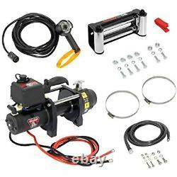 Bulldog 500403 DC Electric Heavy Duty Winch (dc6000, 6000 Lbs.), 1 Pack
