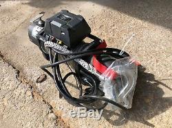 Bulldog Treuil Électrique 9500 Lb Avec Corde Synthétique