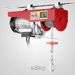 Câble De Plafond De Moteur De Levage De Grue De Moteur De Levage De Treuil De Grue Électrique De Moteur 1500lbs