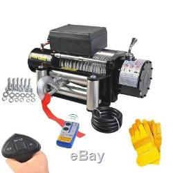 Classique 12500 Lbs 12 V Électrique De Récupération Winch