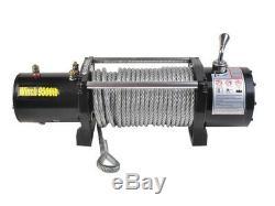 Classique 9500 Lbs Électrique 12v Récupération Treuil At3372 Wc