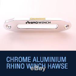 Corde Électrique Synthétique De Récupération De Dyneema Rhino Winch 13500lb De Récupération 12v 4x4 Résistante