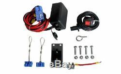 Dk2 Snowbear Guerrier Électrique Chasse-neige Winch 3000 Kit--lb. 12 Volt, Modèle # Ew80