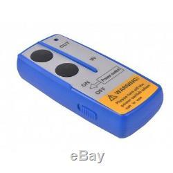 Durable Électrique À Télécommande De Fil De Treuil De Récupération Du Treuil 9500lbs 12v 4x4 De Récupération