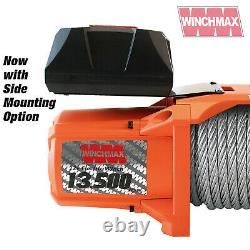 Électric Winch 12v 4x4/recovery Sl 13500 Lb Winchmax Brand + Mounting Plate Inc