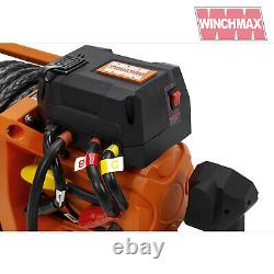 Electric Winch 17500lb 12v Sl Synthétique Winchmax 4x4/recovery Wireless Dyneema