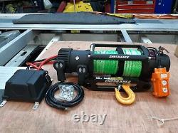 Electric Winch Recovery Winch&truck Mount Plate New Hi-viz Rope £365.00 Inc Cuve