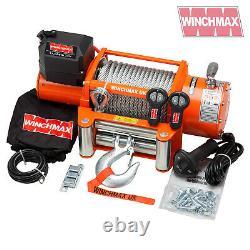 Électrique Winch 24v Recouvrement 4x4 17000 Lb Winchmax Treuil Originaire Originaire Emmote