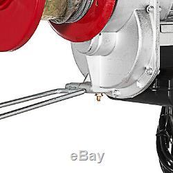 Grue Électrique De Levage De Grue De Grue De Treuil De Grue De 2200 Livres De Câble 110v 40 Ft À Télécommande