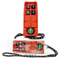 Grue Électrique De Levage Hors-bord 440lb Avec Télécommande Sans Fil Fo-4400