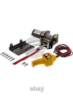 Hulk 4x4 Electric Winch 12v 1500lb Pour Atv Steel Cable (hu1500)