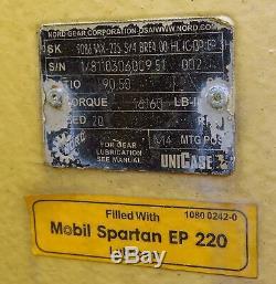 Jeamar Marine Navy Treuil Électrique D'amarrage Rk12000-150 Charge Maximale 12 000 Lb