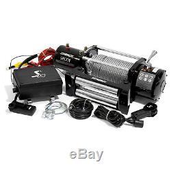 Kit De Treuil Électrique 4wd Speedmaster 9500lbs / 4310kgs 12v Avec Télécommande Sans Fil