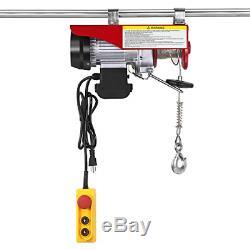 Limicar 2200lbs Frais Généraux Ascenseur Palan Électrique Grues Garage Plafond Poulie Winch