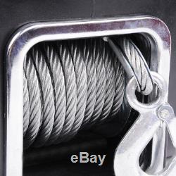 Ma8 Universal 5000lb Marine Bateau Treuil Électrique 12v Câble D'acier Corde De Remorquage Kit