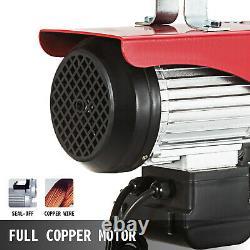 Moteur De Levage Électrique 1100lb Heavy Duty Motor Pa500 Winch Hoist Crane
