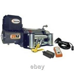 New Keeper Kw95122 12 Volt DC Electric 9500 Lb Winch Avec Télécommande 100 Ft X 21/64