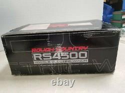 New Ob Rough Pays 4500lb Utv/atc Treuil Électrique 50ft Rs4500s
