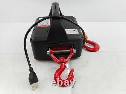 Newtry 3 En 1 Treuil Électrique Avec Télécommande Sans Fil, 1100lb, 7.6m/25ft