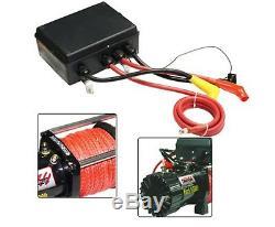 Nouveau 14500lb Treuil Électrique 26m Corde Synthétique 6577kg 12v Télécommande Sans Fil 4wd 4x4