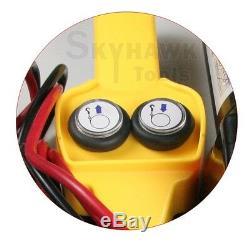 Nouveau 2000 Lb De Récupération De Remorque Électrique Winch Vtt / Bateau / Camion / Voiture Entrée 12v 1 HP