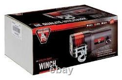 Nouveau Bulldog 500401 Black 12v. DC Electric Utility Winch Rated 3500lbs