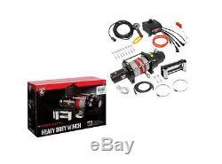 Nouveau Bulldog DC Électrique Heavy Duty Winch Dc12000l 12.000 Lbs Withrope