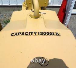 Nouveau Jeamar Marine Navy Mooring Electric Winch Rk12000-150 Max Load 12.000 Lbs