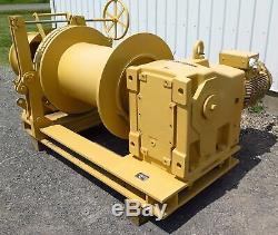Nouveau Treuil Électrique Pour Amarrage Marine Jeamar Marine, Charge Maximale 12 000 Lb, Rk12000-150