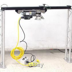 Novellus 02-350345 Fil Baldor Palan Électrique Câble D'acier Winch 100lbs Cap. Tiques