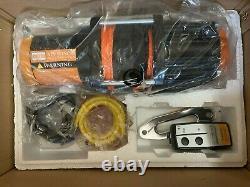 Orcish 12v 4500lb Kit De Treuil À Corde Synthétique De Vtt Électrique Utv 1.3hp